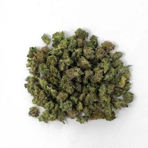 popcorn Cannabis laid out on a table